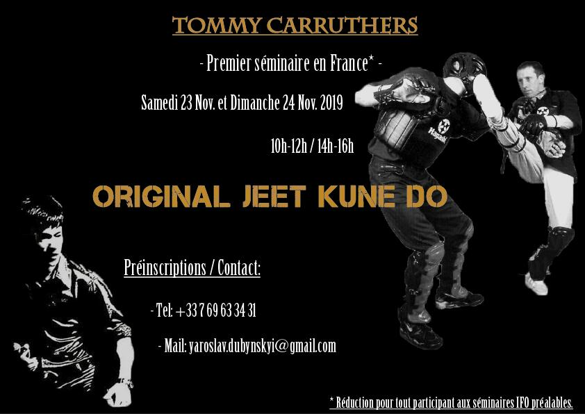 Jeet Kune Do Seminar - Saint-Étienne, France