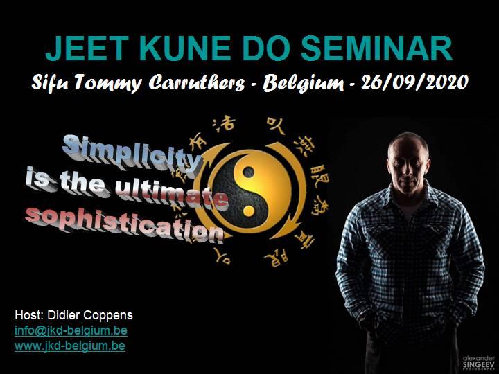Jeet Kune Do Seminar Belgium