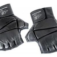 Leather Gel Gloves