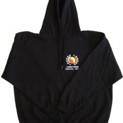 JKD Japanese design hoody black